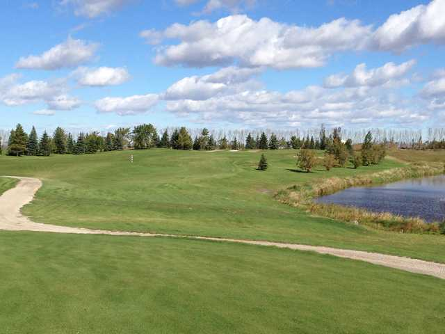 A view of fairway #12 at Kingswood Golf and Country Club