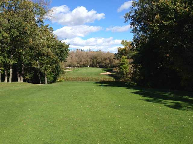 A view from tee #17 at Kingswood Golf and Country Club