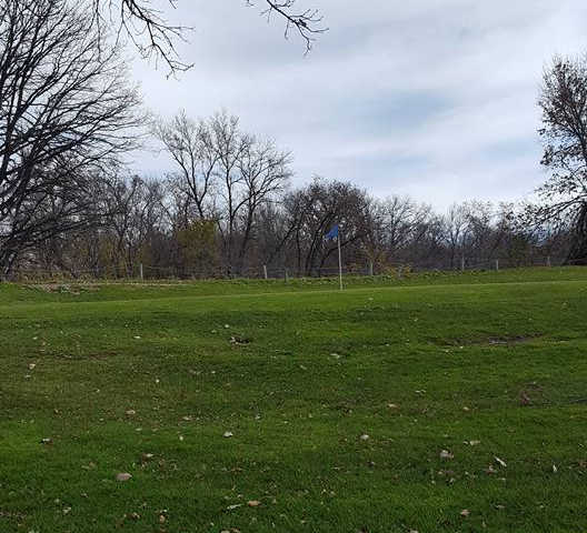 A view of a green at Maplewood Golf Club (Jensen Dueck)