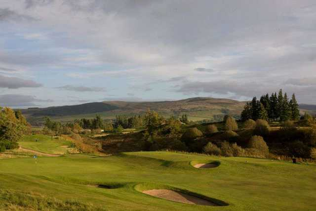 The 16th hole on Queens Course at Gleneagles