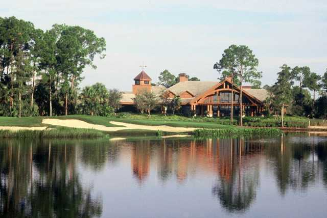 A view of the clubhouse at Bonita Bay East
