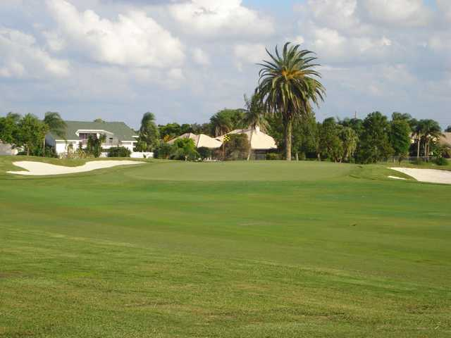 A view of the 15th hole at Cypress Creek Country Club