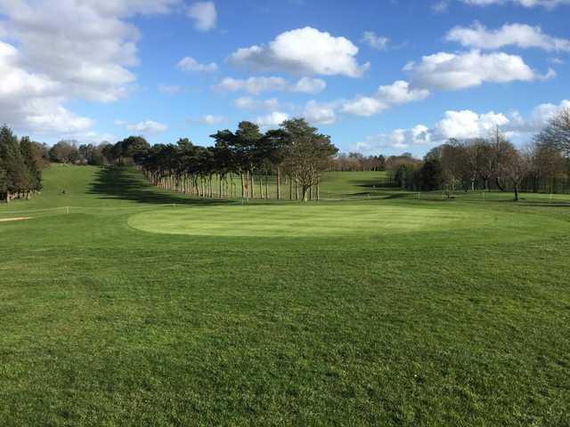 View of a green at Lurgan Golf Club