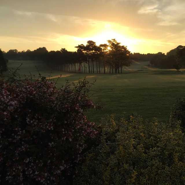 Sunset view from Lurgan Golf Club