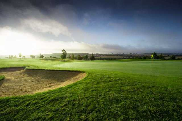 The Hertfordshire countryside provides a stunning backdrop to the course