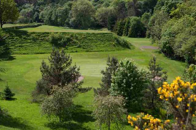 View of the 2nd hole at Dalmuir Municipal Golf Course