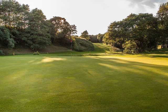Golfing greens at Skipton