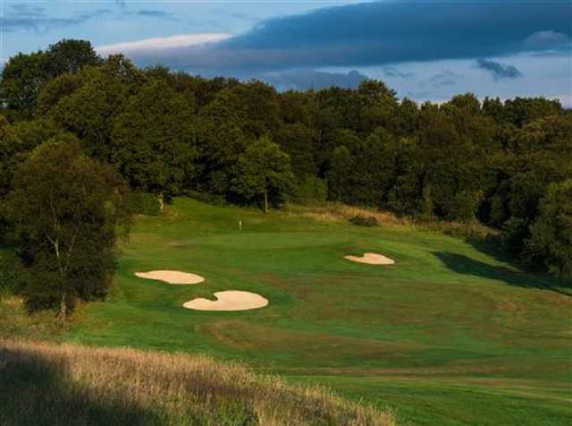 The Sand Moor golf course
