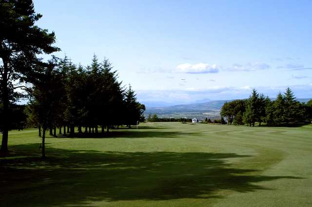 An attractive view of the Paisley golf course