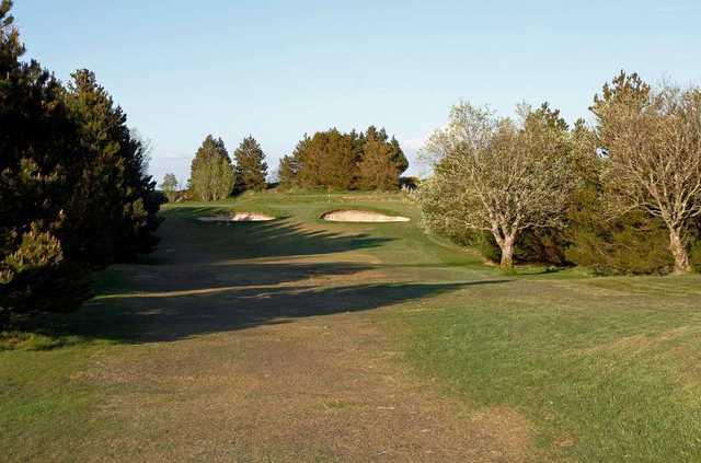 The 11th hole at Port Glasgow Golf Club