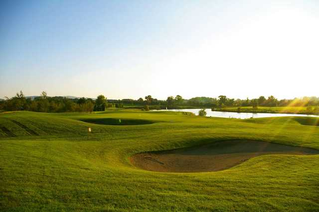 The 6th hole at Grange Castle Golf Club