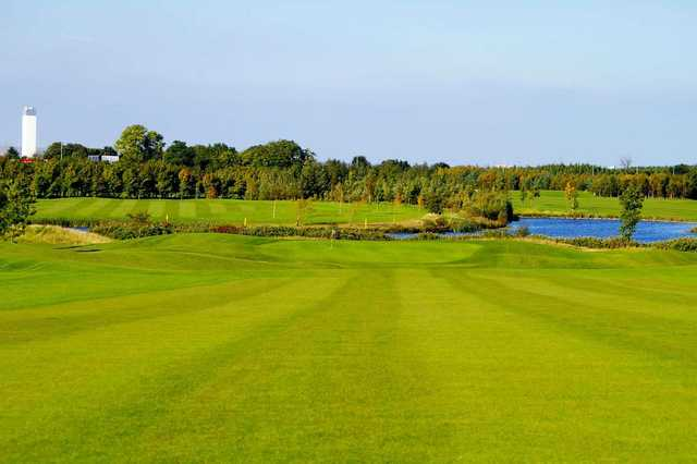 The testing 3rd hole at Grange Castle Golf Club