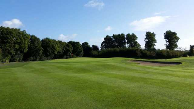 Approaching the green at Grange Castle Golf Club