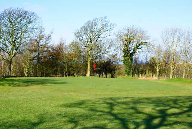A view of hole #1 at Workington Golf Club