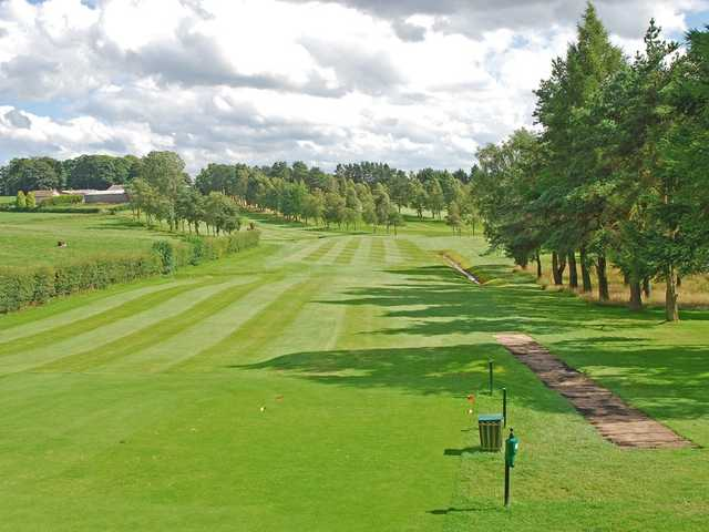 The view from the 6th tee on the Hayston Golf Course