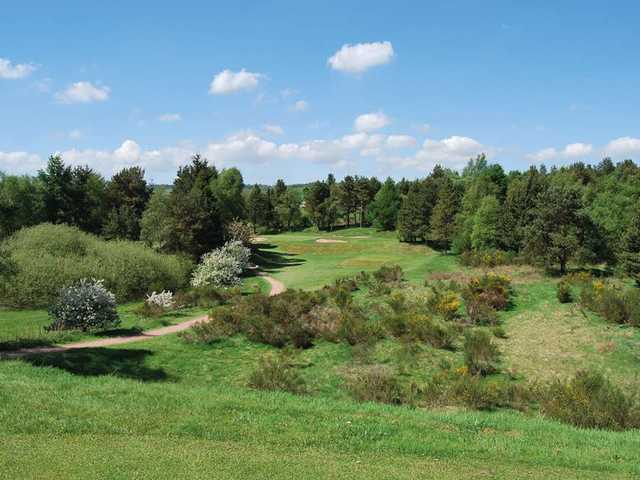Hayston Golf Club's 14th hole is its signature