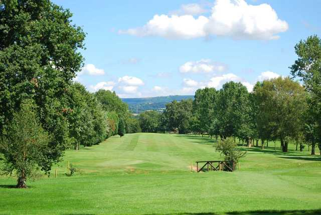 The tough 15th tee shot at Thirsk and Northallerton Golf Course