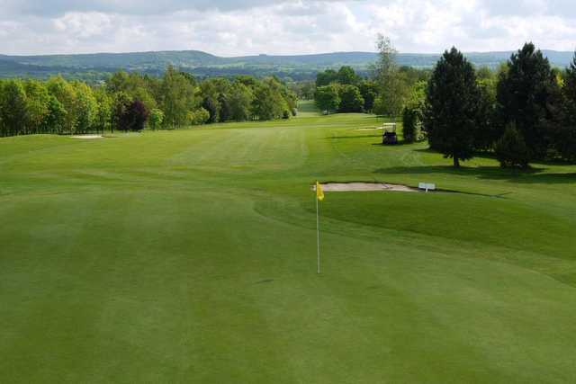 A look back from the 12th green at Thirsk and Northallerton Golf Club