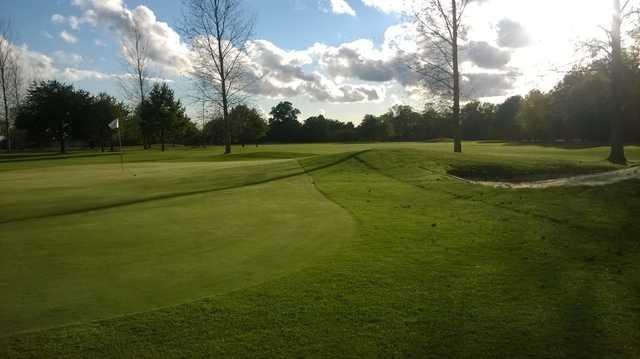 Brentwood Golf Club, 9th green