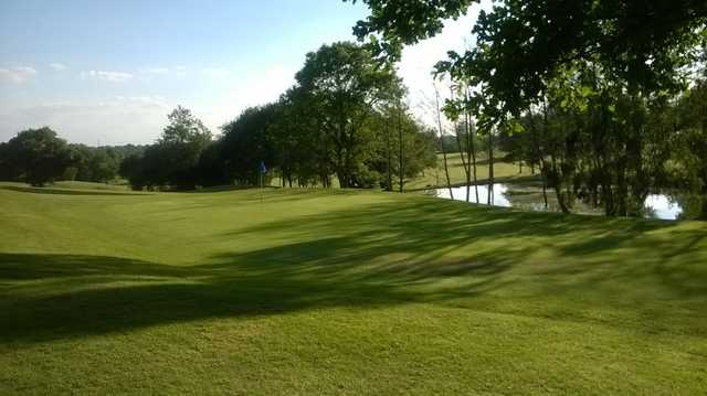 16th green on the Brentwood Golf Course
