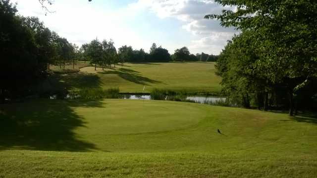 Brentwood Golf Club, 4th green