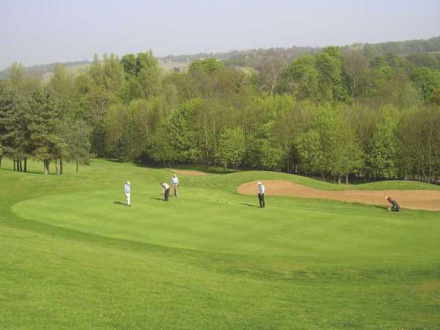 PGC Green at Panshanger Golf Club