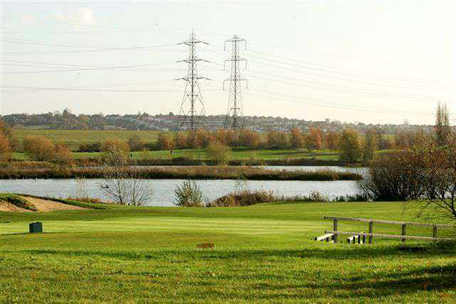Great shot of Lee Valley Golf Club