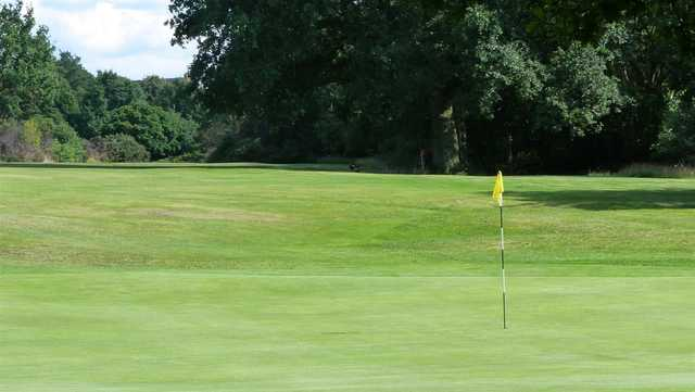 View from a green at Woodford Golf Club
