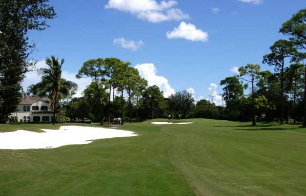 A view of hole #17 at Palm Beach National Golf Course