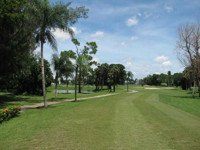 A view of hole #16 at Poinciana Country Club