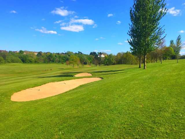 A sunny day view from Roe Park Golf Club