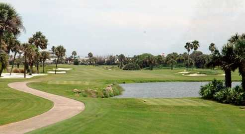 A view of hole #8 at Oceanside Golf & Country Club
