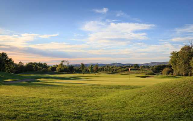 View of the 10th hole at Isle of Wedmore Golf Club