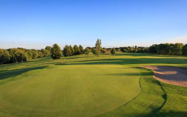 View of the 14th hole at Isle of Wedmore Golf Club