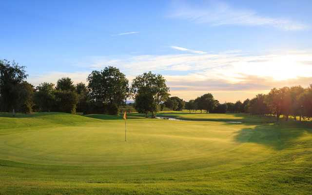 View of the 16th hole at Isle of Wedmore Golf Club
