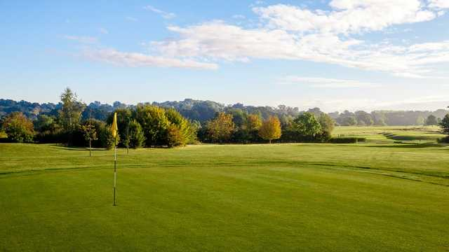 View from the 8th green at Nazeing Golf Club