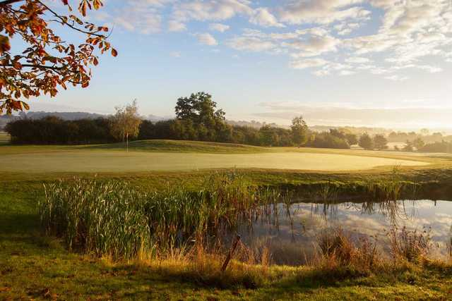 View of the 10th green at Nazeing Golf Club