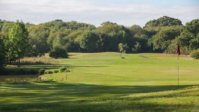 Looking back from the 13th green at Nazeing Golf Club