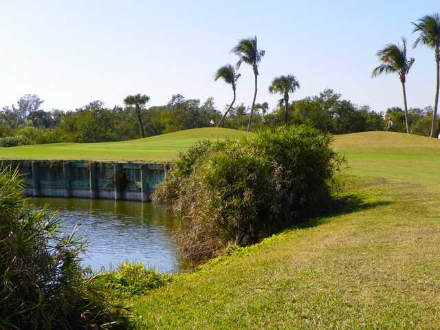 A view of the 3rd hole at Sanibel Island Golf Club