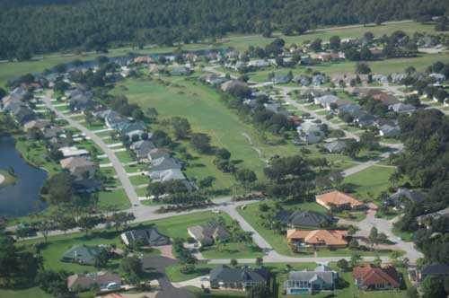 Aerial view from Country Club of Sebring