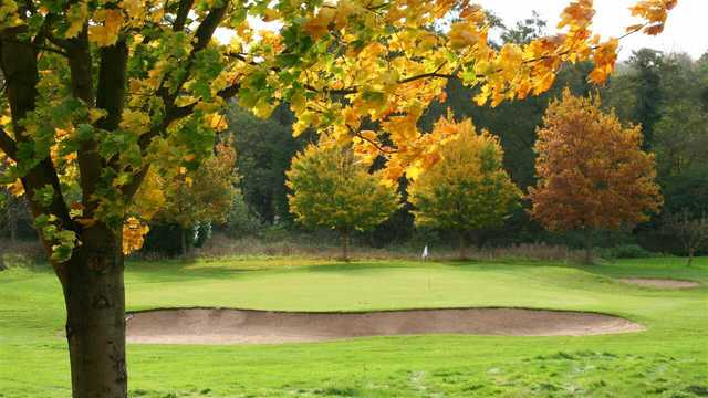 Fall view from Stowmarket Golf Club