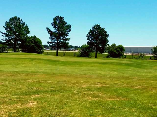 A view of the 11th green at Augusta Municipal Golf Course.