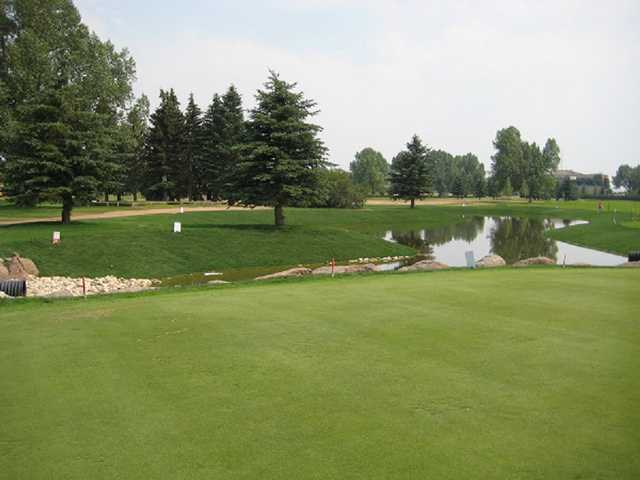 A view over the water from Glen Red Jacoby Golf Club.