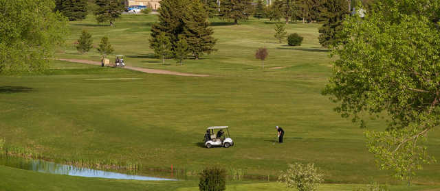 A view from Glen Red Jacoby Golf Club.