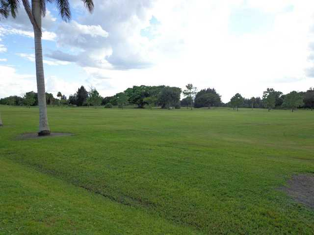 A view from Clewiston Golf Course.