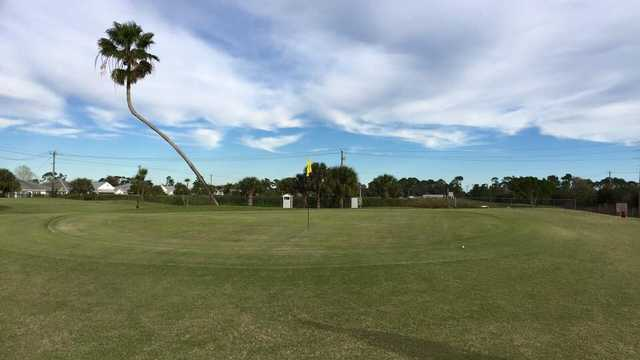 A view of a green at Spanish Lakes Fairways (Charlie McCarthy).