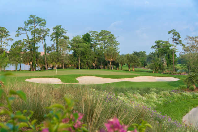 A view of green #3 at The Rookery At Marco.
