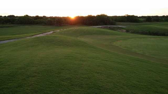 A sunset view from The Glades Resort.