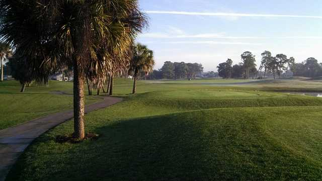 A view from a tee at Palms from Rotonda Golf & Country Club (George Padrenoss).