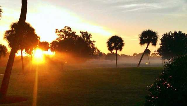 A morning day view from Hills at Rotonda Golf & Country Club (Tyler Beasley).